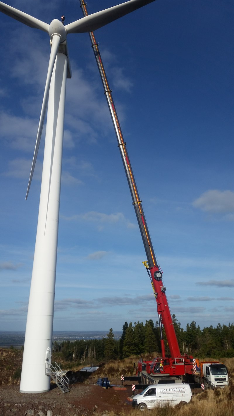 Grove 1095 Derrybrien Windfarm